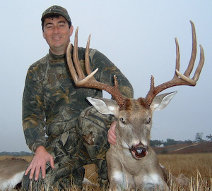 Trophy Whitetail Buck